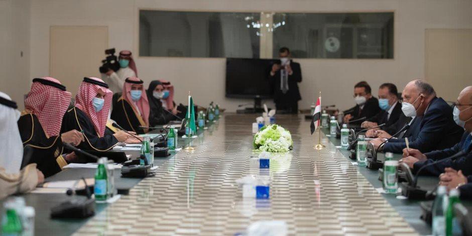 مصر والسعودية تشددان على رفض التدخلات الإقليمية في الدول العربية