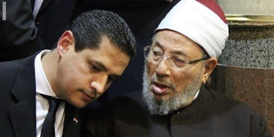 """«من شابه القرضاوي فقد ظلم».. عبد الرحمن يوسف """"مُلعب ابن مُلعب"""""""