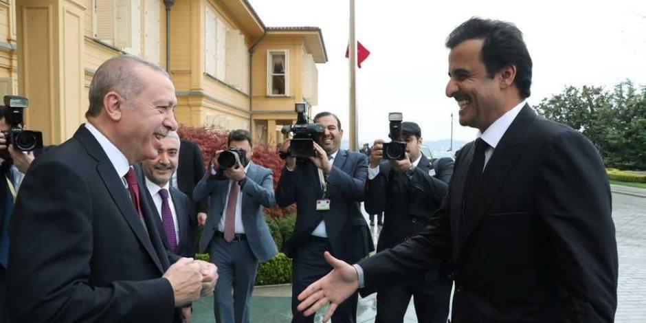 """""""تركيا ليست متجرا لأردوغان"""".. داوود أوغلو يتهم السلطان العثماني بخيانة تركيا لصالح قطر"""