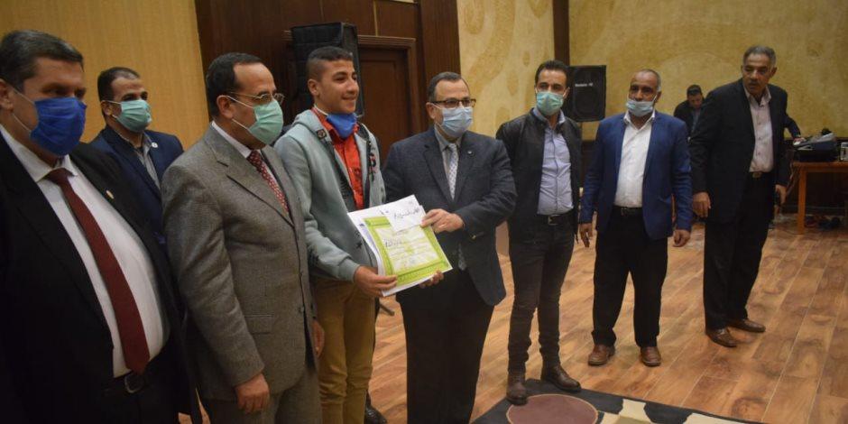 شمال سيناء تحتفل باليوم العالمي للمعاق.. وتخصص نصف أكشاك العريش لذوي الاحتياجات بالمجان( صور)