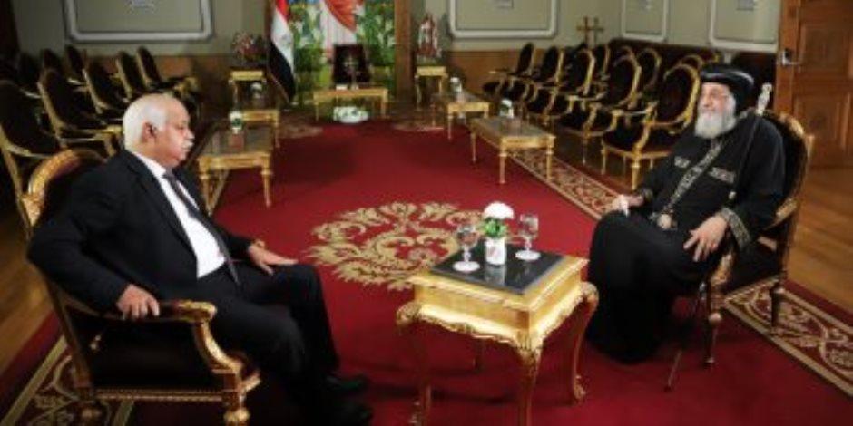 """البابا تواضروس: لم أرغب أن أكون بطريركا.. و كنت بقول """"بلاش الحكاية دي يارب"""""""