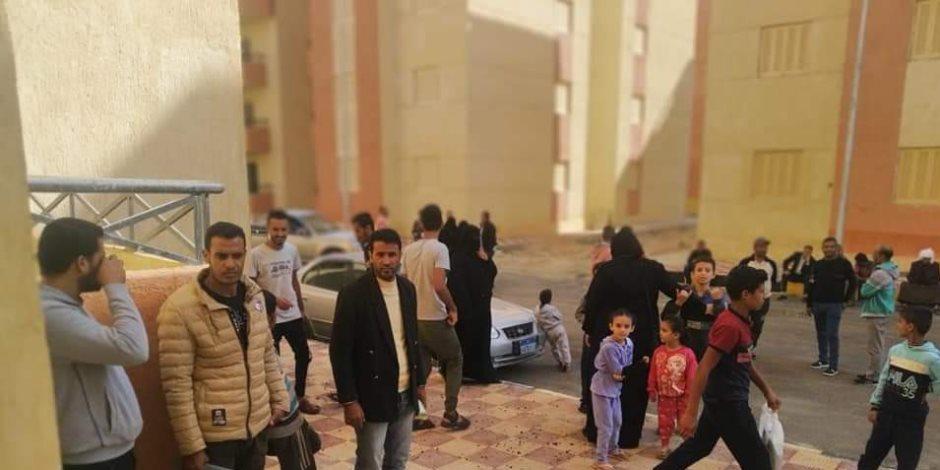 هدايا السيسي لأهالي سيناء تتوالى.. تسليم 1176 وحدة سكنية للمنقولين من الشيخ زويد ورفح بالعريش (صور)
