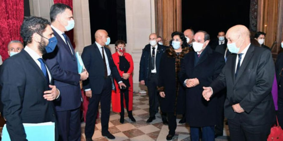 وزير خارجية فرنسا: زيارة الرئيس السيسي لباريس ستدعم مسيرة العلاقات بين البلدين