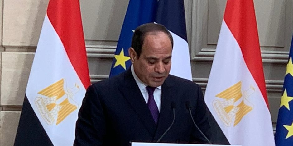 السيسى لماكرون: المقاصد السياحية في مصر تسجل صفر إصابات بفيروس كورونا