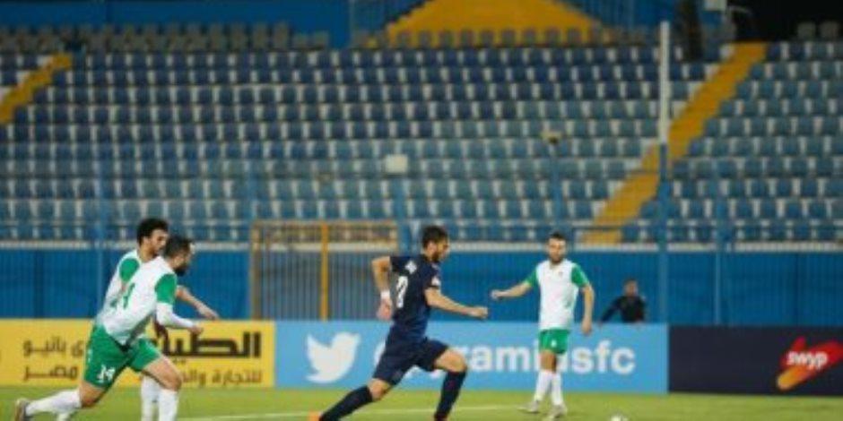 رمضان صبحى يغيب عن بيراميدز أمام الزمالك بعد الطرد عقب مباراة الاتحاد السكندرى