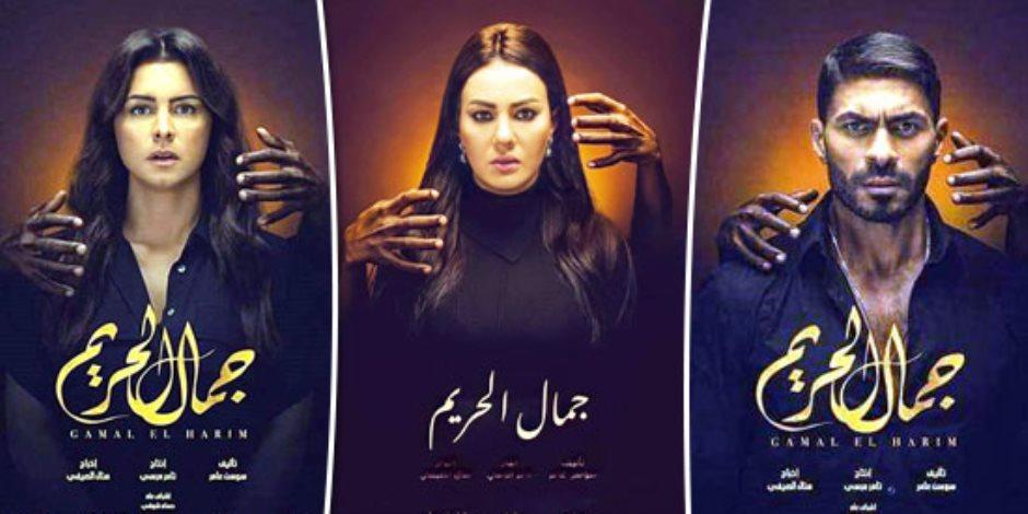 """دينا فؤاد تمارس السحر ونور تخطط لحرق ملك الجن فى الحلقة 9 من """"جمال الحريم"""""""