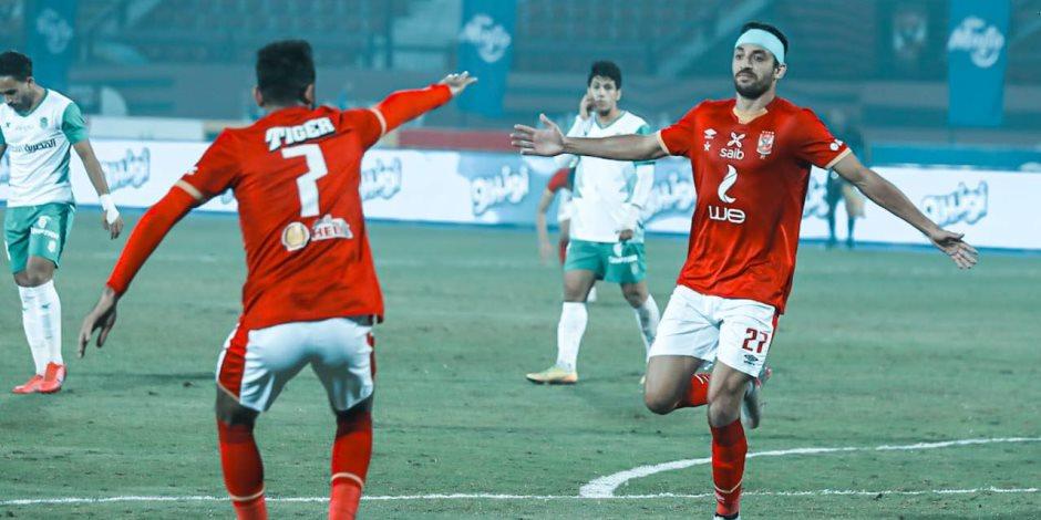 مبارة الأهلي والمصري.. صلاح محسن يقود هجوم المارد الأحمر وطاهر أساسيا