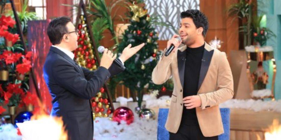 """صابر الرباعى وأحمد جمال نجوم المتحدة فى """"معكم """" ليلة رأس السنة"""