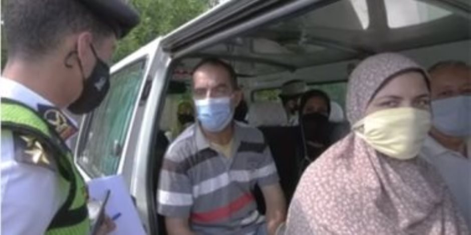 «الداخلية» تطارد مخالفي ارتداء الكمامة.. وتغريم 15 ألف شخص خلال 24 ساعة