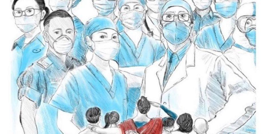 قائمة شرف شهداء الأطباء في 2021