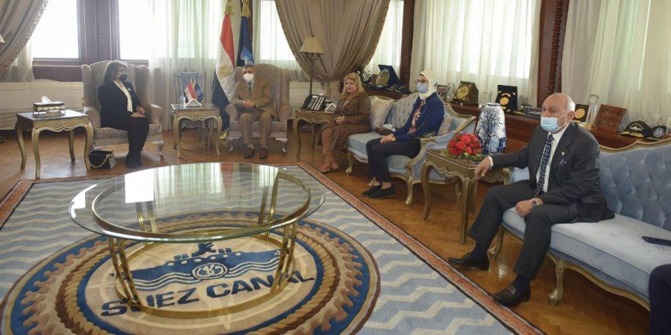 رئيس هيئة قناة السيويس يلتقي أعضاء مجلسي النواب والشيوخ بالإسماعيلية.. ويؤكد:لم تتأثر بأزمة كورونا