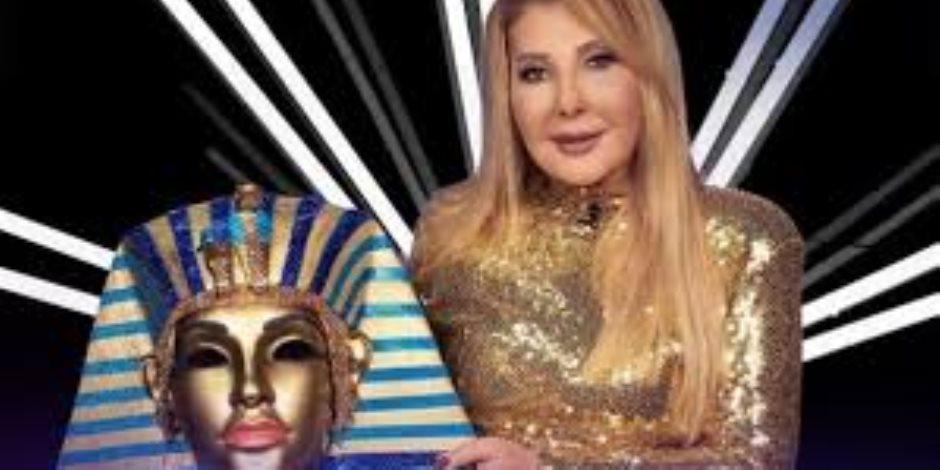 نادية الجندي تتصدر التريند بسبب نفرتيتي في the masked singer (صور)