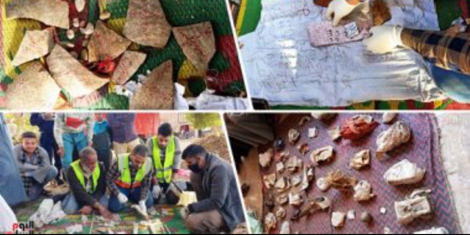 """قبور بلا حُرمة.. شباب في سوهاج يعثرون على """"أكوام"""" من أعمال السحر داخل مقابر مهجورة"""