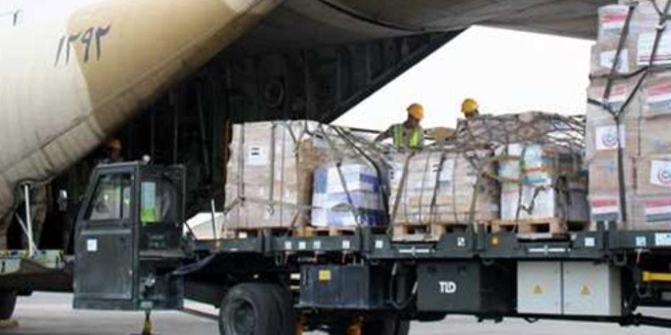 تزامنًا مع زيارة الرئيس.. مصر ترسل طائرة مساعدات طبية للأردن