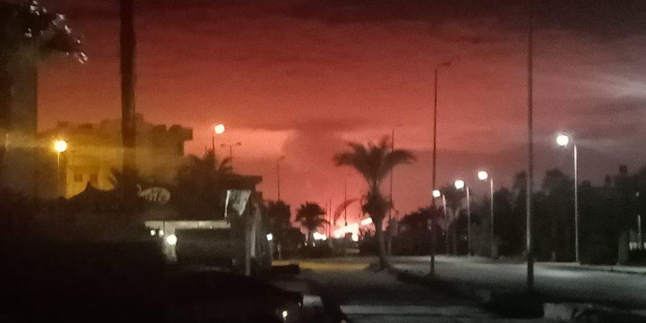 محافظ شمال سيناء: تفجير خط الغاز لن يؤثر على إمدادات العريش (صور)