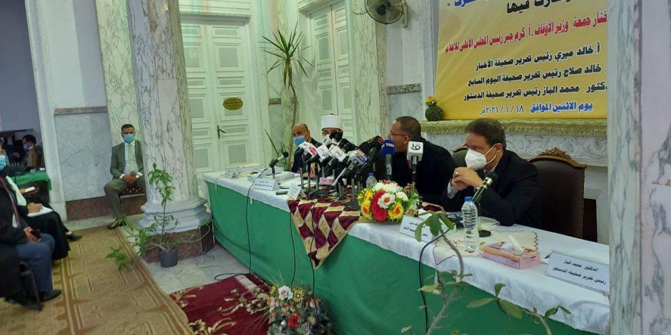 خالد صلاح: لن يتم القضاء على الإرهاب إلا بتنقية كتب التراث