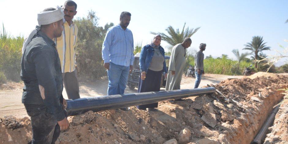 «الغلابة أولوية».. مبادرة الرئيس لتطوير 1000 قرية تواصل تطوير القرى الأكثر احتياجا بالمحافظات