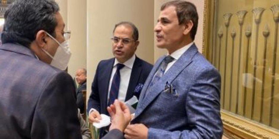 إحالة النائب عبد العليم داود إلى لجنة القيم وتعليق حضوره الجلسات واللجان