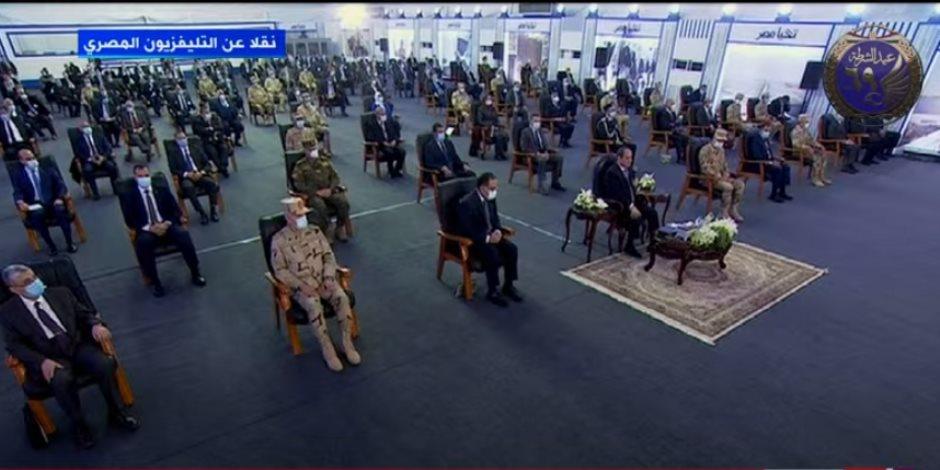 الرئيس السيسى: القضاء على كافة المشاكل فى الريف المصرى خلال 3 سنوات