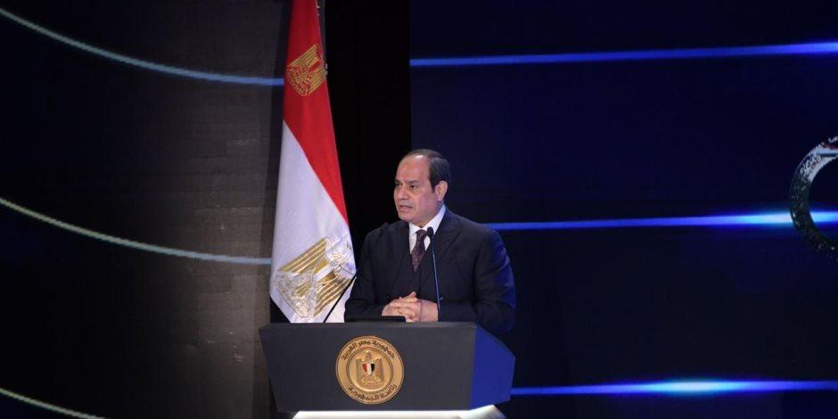 الرئيس السيسي: مشروع تطوير الريف المصري سوف يغير الواقع للأفضل