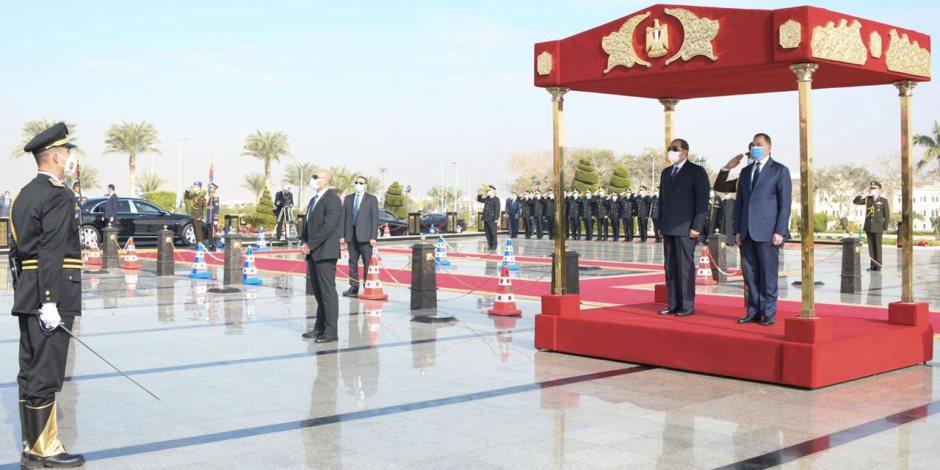 وزير الداخلية: رجال الشرطة عقدوا العزم على تحصين المصالح العليا للبلاد