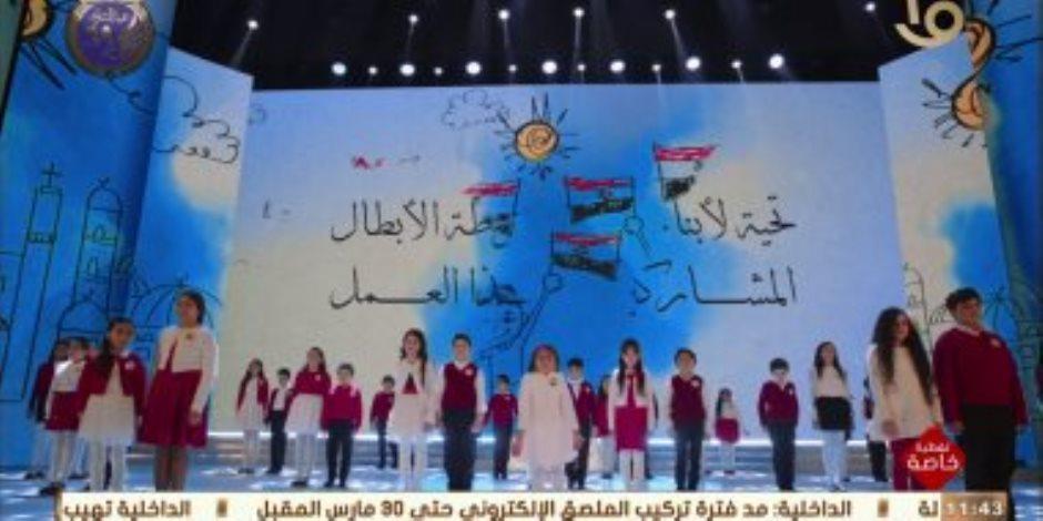 """أبناء الشهداء في عرض فني: """"إما نجيب حقهم أو نروح لهم"""""""