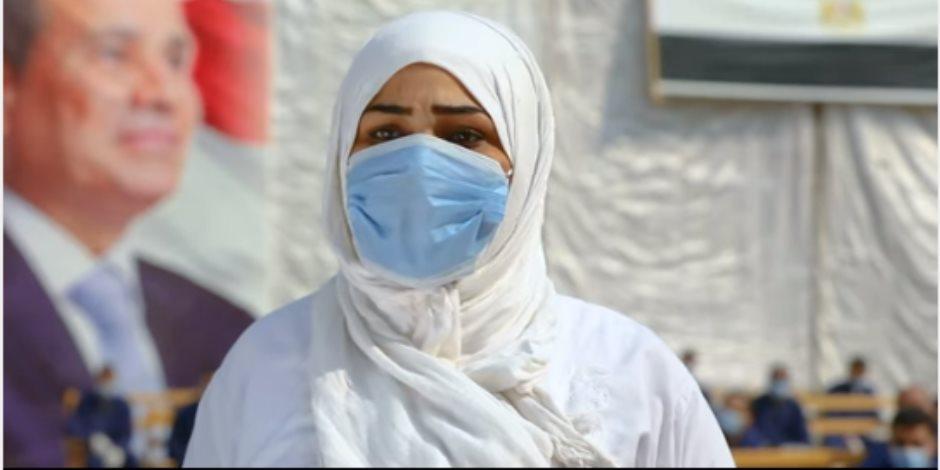 غارمة مُفرج عنها بعفو رئاسي: عيد الشرطة فرحنا (فيديو)