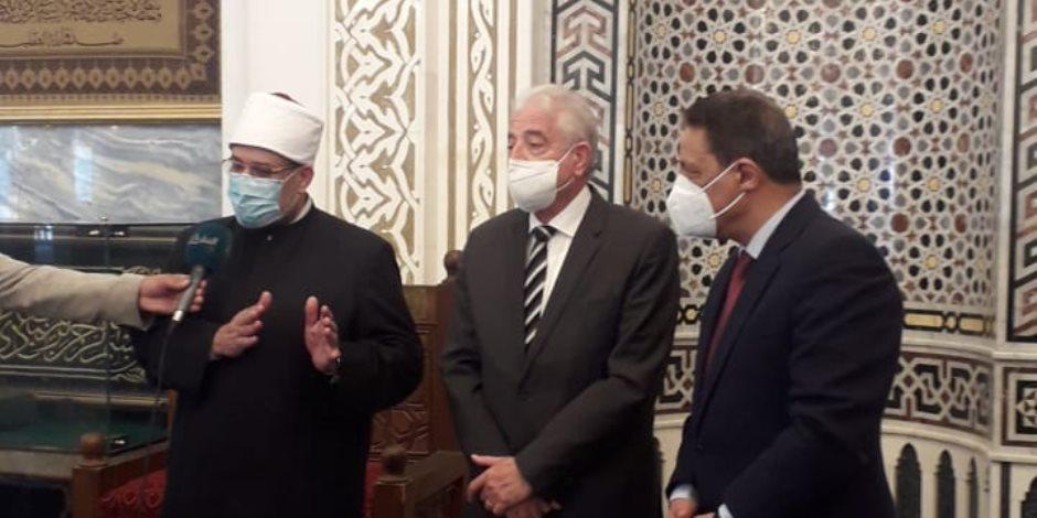 وزير الأوقاف: الخونة والجواسيس جزاؤهم القتل بنص القرآن الكريم