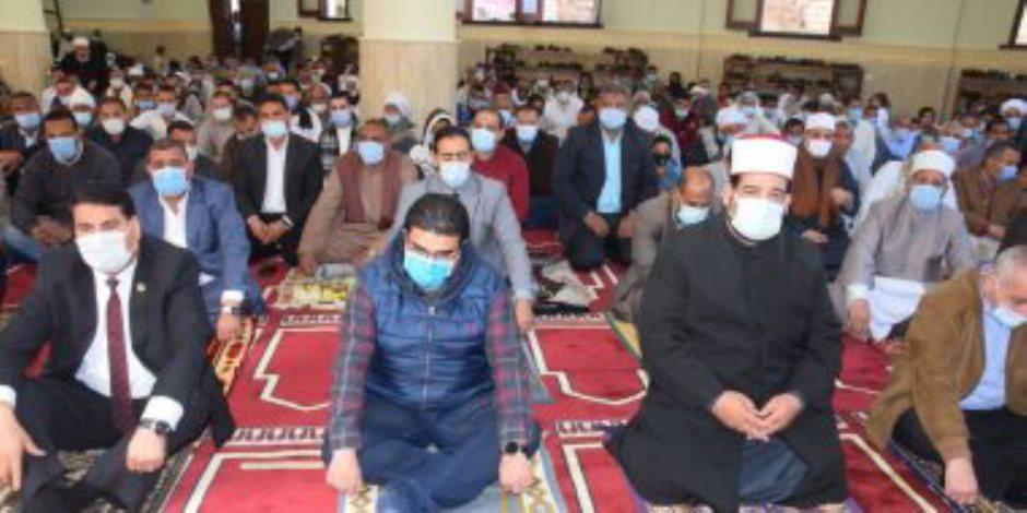 الدولة تعمر بيوت الله.. افتتاح 7 مساجد بالدقهلية بتكلفة 24 مليون جنيه