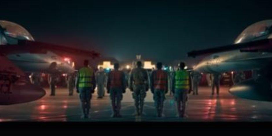 «هيخافوا منه».. برومو فيلم السرب يظهر لحظة إصدار أوامر قصف مواقع داعش في درنة الليبية (فيديو)