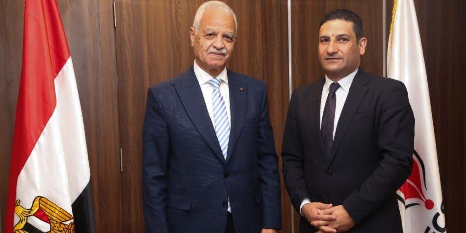 وكالة أنباء الشرق الأوسط تبرز حوار اللواء محمد إبراهيم مع رئيس تحرير صوت الأمة