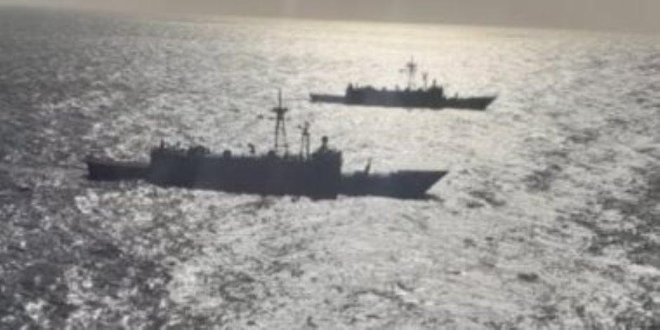 مصر وأسبانيا تنفذان تدريبا بحريا عابرا في نطاق الأسطول الجنوبي
