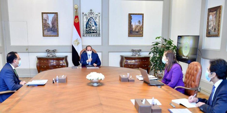 الرئيس السيسى يوجه بتطوير برامج بناء القدرات للعاملين بالجهاز الإداري للدولة