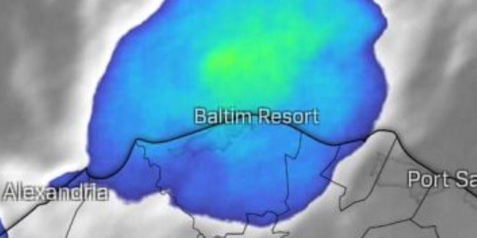 الأقمار الصناعية تكشف.. طقس أوروبي على السواحل المصرية بسقوط أمطار رعدية مصحوبة بحبات الثلج