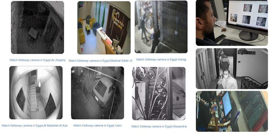 اختراق.. «صوت الأمة» تكشف مواقع تبث حياة المصريين على الإنترنت