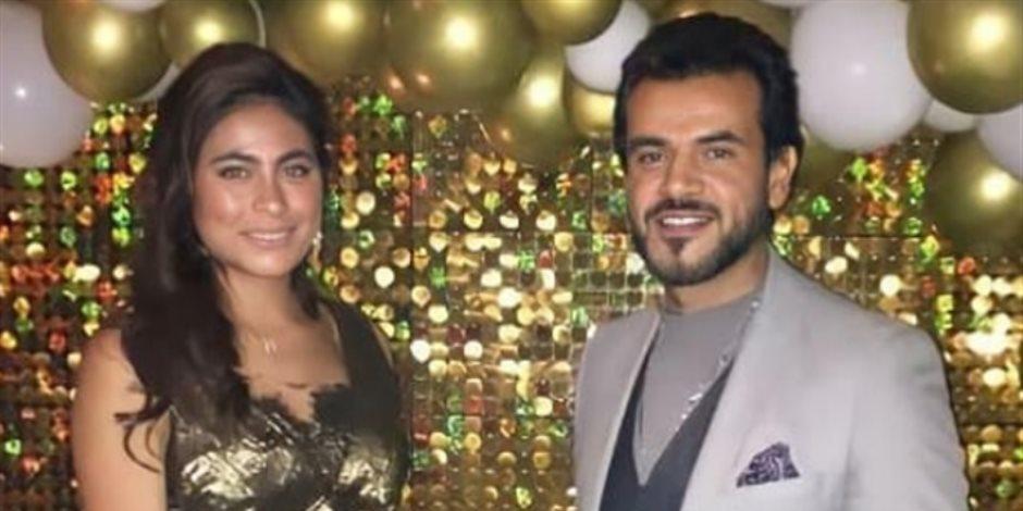 هاجر أحمد تتصدر التريند بعد الاحتفال بعيد ميلادها مع سامو زين (فيديو)