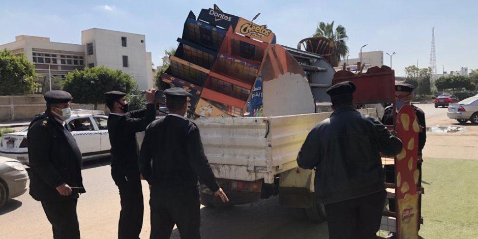 منعًا للفوضى.. 7 أحياء في القاهرة تشهد حملة لإزالة الإشغالات