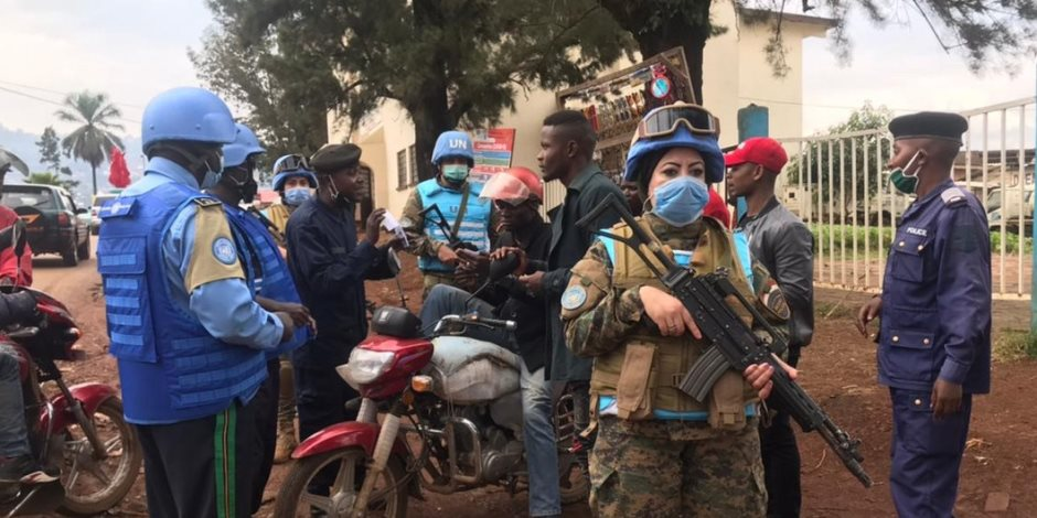 دعاء شحاتة.. فتاة مصرية ضربت مثالا للشجاعة في قوات حفظ السلام بالكونغو
