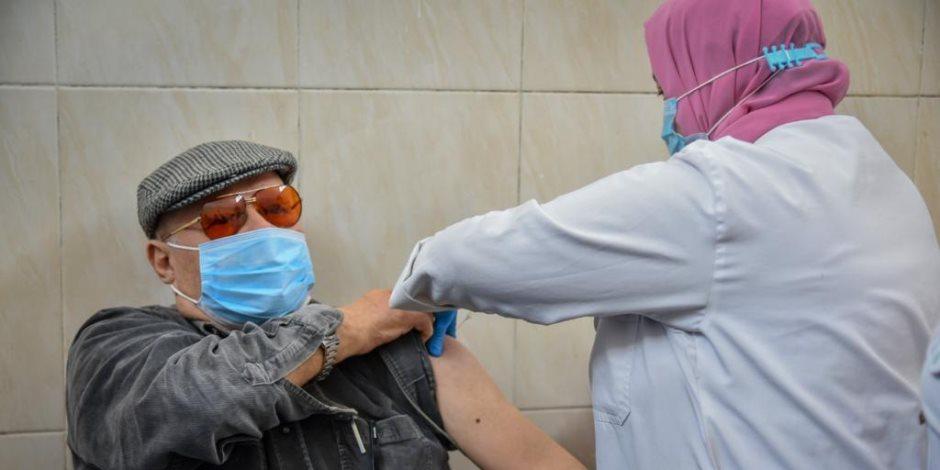 الصحة: تطعيم 1141 مواطنا من الفئات المستحقة بلقاح كورونا فى اليوم الأول