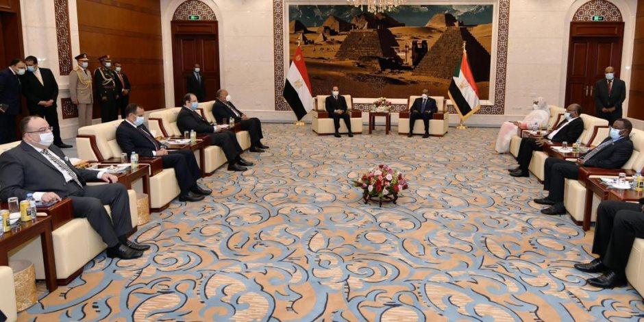 «القاهرة – الخرطوم»: عدد الزيارات بين البلدين يعكس حجم الملفات المشتركة والمصالح المتبادلة
