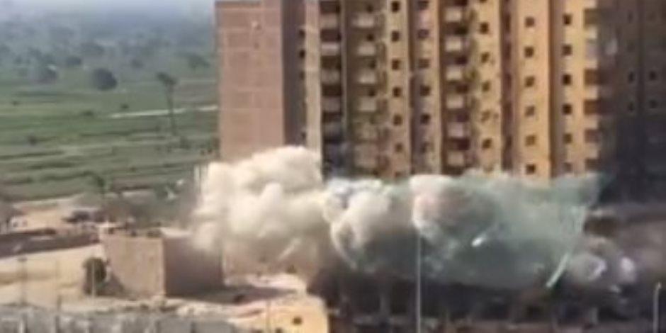 عقار فيصل المحترق.. آخر فصول الكارثة بالتفجير بالديناميت