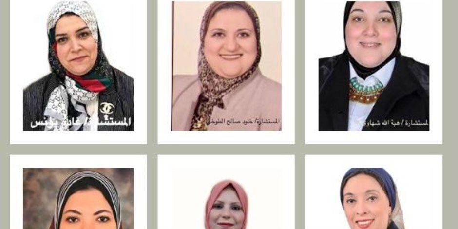 دايما في العالي.. 6 سيدات مديرات للنيابات الإدارية في المحافظات