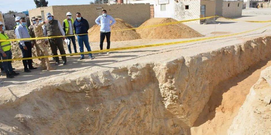 """""""حياة كريمة"""" تستهدف أكبر خطة تطوير بمراكز الوادي الجديد.. والفرافرة تستحوذ نصيب الأسد بـ 28 قرية"""
