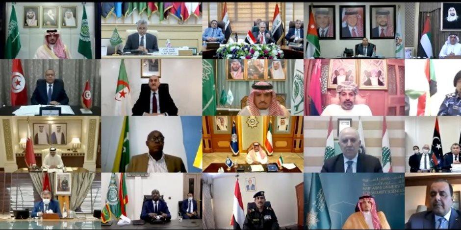 «وزراء الداخلية العرب» يؤكد عزمه مواصلة مكافحة الإرهاب ومعالجة أسبابه (فيديو)