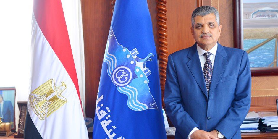 رئيس قناة السويس: تلقيت اتصالات من سفراء العالم خلال أزمة السفينة الجانحة