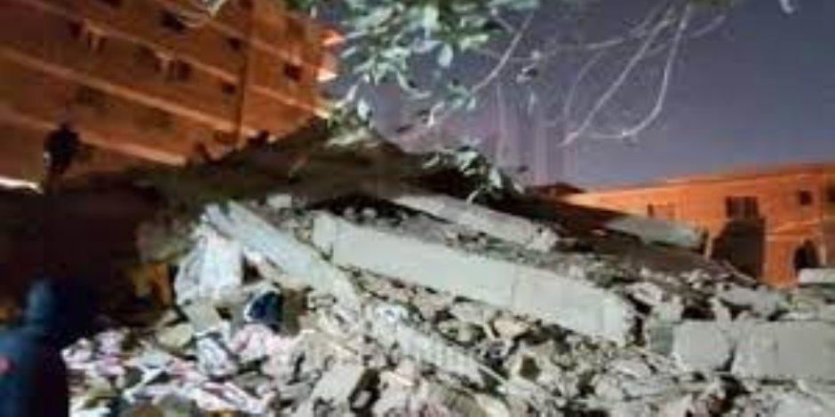 انهيار عقار جسر السويس ... رئيس الحي: تم تحرير محضر مخالفة ضد صاحب العقار والمحافظة لم ترد حتى الآن