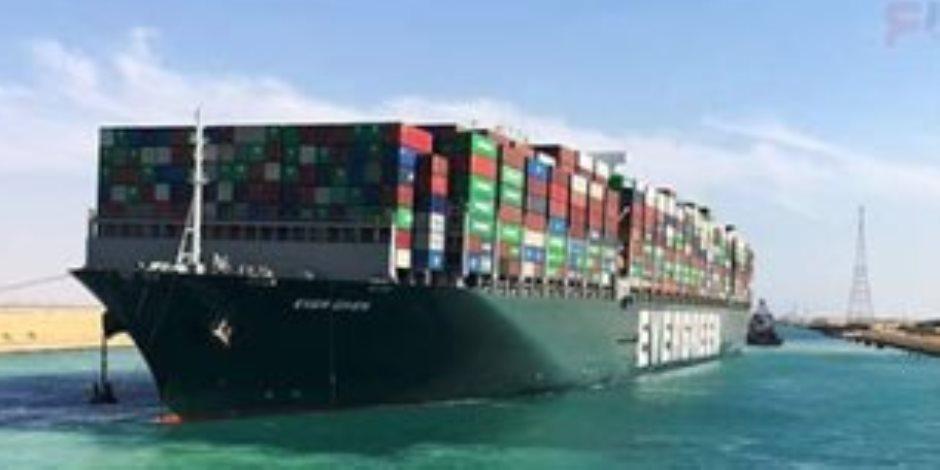 """انتهاء أزمة السفينة يصيب أبواق الإخوان بالجنون.. البث المباشر من قناة السويس يخرس """"الإرهابية"""""""
