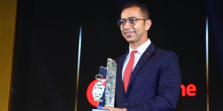 """فوز """"فودافون مصر"""" بجائزة الشركة الأكثر نموًا في مجال المحافظ والمدفوعات الرقمية من احتفالية bt100"""