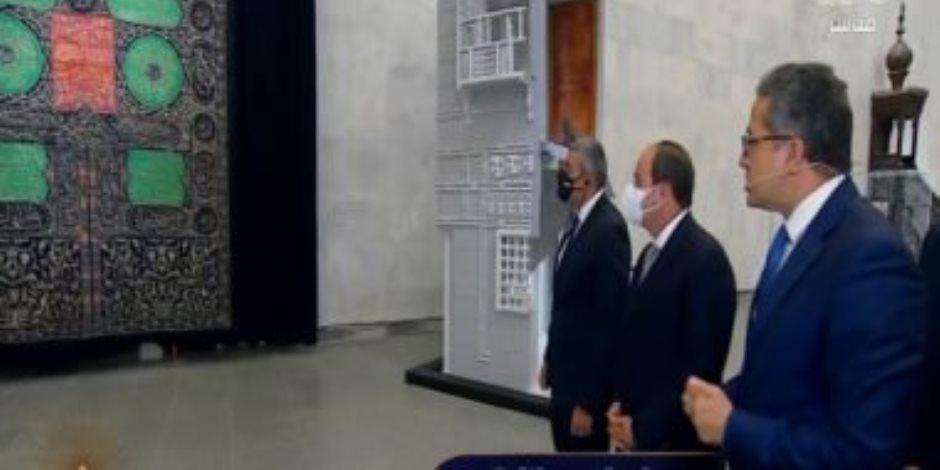 مقتنيات المتحف القومي للحضارة بالفسطاط بعد افتتاح الرئيس السيسي (صور)