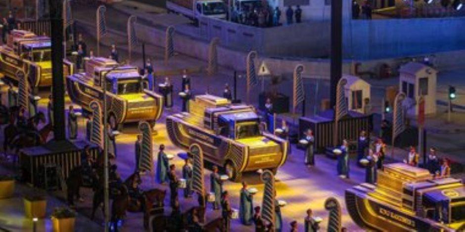 ملحن عرض المومياوات يكشف كواليس الحفل الأسطوري
